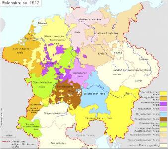 Reichskreise 1512