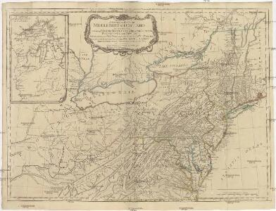 A GENERAL MAP OF THE MIDDLE BRITISH COLONIES IN AMERICA