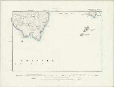Caernarvonshire XLVI.NW - OS Six-Inch Map