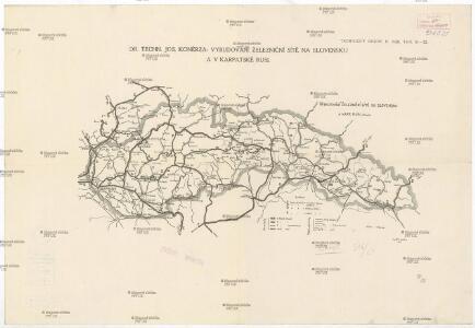 Vybudování železniční sítě na Slovensku a v Karpatské Rusi