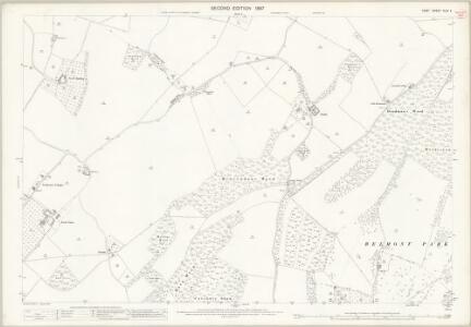 Kent XLIV.4 (includes: Eastling; Ospringe; Throwley) - 25 Inch Map