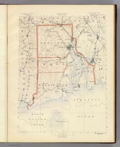 Contents: Rhode Island atlas.