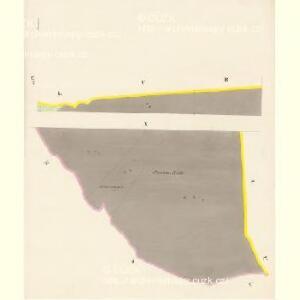 Chlum - c2505-1-009 - Kaiserpflichtexemplar der Landkarten des stabilen Katasters