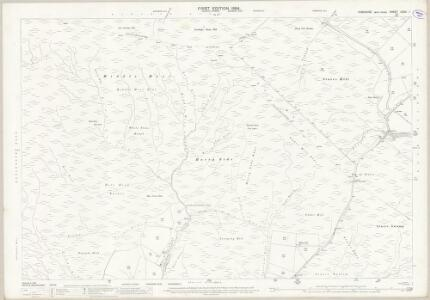 Yorkshire CCXV.1 (includes: Keighley; Wadsworth) - 25 Inch Map