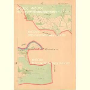 Bystržitžka - m0318-1-003 - Kaiserpflichtexemplar der Landkarten des stabilen Katasters