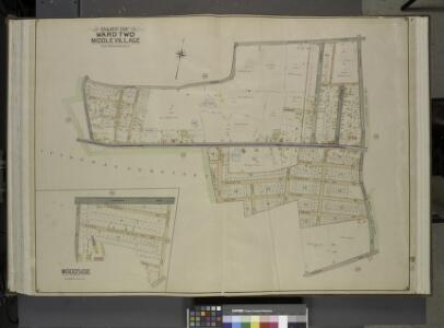 Queens, Vol. 2, Double Page Plate No. 26; Part of     Ward Two Middle Village; [Map bounded by Juniper Swamp Road, Furmanville Road,   Dryharbor Road, Washington Road; Including Cooper Ave., Barnum Ave.,             Metropolitan Ave., Juniper Ave.]; W