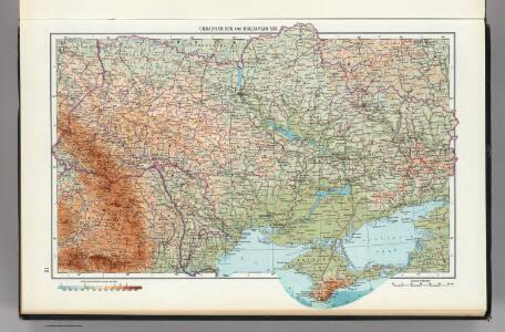 21.  Ukrainian SSR, Moldavian SSR.  The World Atlas.