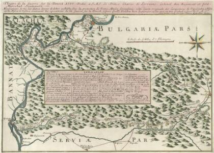 Theatre de la Guerre sur la Timock 1737