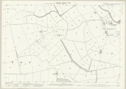 Lincolnshire LXXI.3 (includes: Barlings; Fiskerton; Newball) - 25 Inch Map