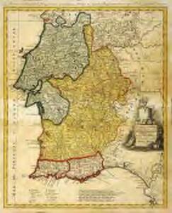 Provincias meridionales regni Portugalliæ, scilicet Extremadura, Transtagana, quibus regnum Algarbiæ adiungitur