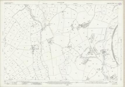 Cumberland LXXII.11 (includes: Beckermet St John) - 25 Inch Map