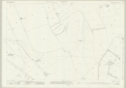 Wiltshire XLII.5 (includes: Milton Lilbourne; Pewsey) - 25 Inch Map