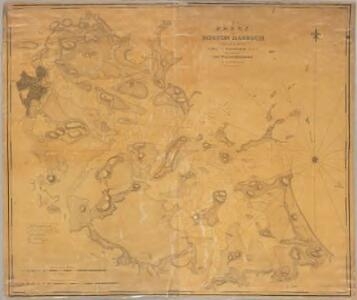 Chart of Boston Harbour : surveyed in 1817