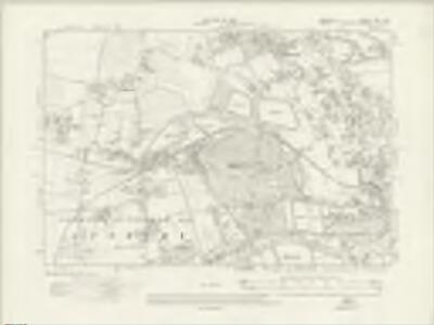 Middlesex XXV.NW - OS Six-Inch Map