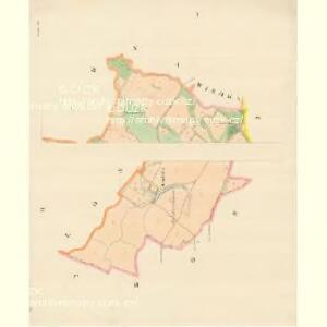 Lhottka - m1540-1-001 - Kaiserpflichtexemplar der Landkarten des stabilen Katasters