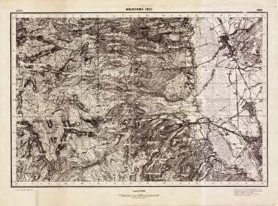 Lambert-Cholesky sheet 4065 (Miercurea Ciuc)