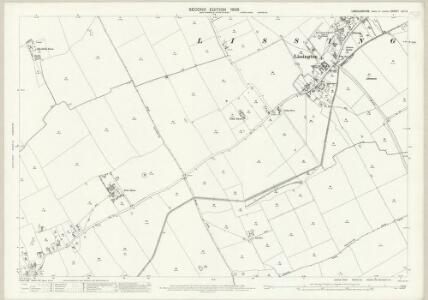 Lincolnshire LIII.12 (includes: Holton cum Beckering; Lissington; Wickenby) - 25 Inch Map