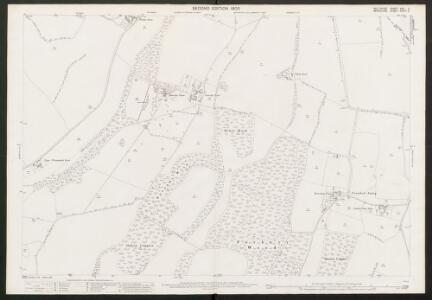 Wiltshire XXX.2 (includes: Chilton Foliat; Lambourn; Ramsbury) - 25 Inch Map