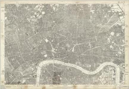 Middlesex XVII - OS Six-Inch Map