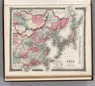 Asia (Eastern Sheet).