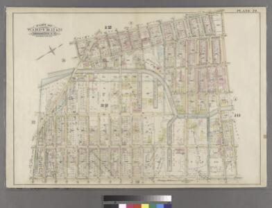 Plate 29: Bounded by Court Street, President Street, Fourth Avenue, Prospect Avenue, Hamilton Avenue and Lorraine.