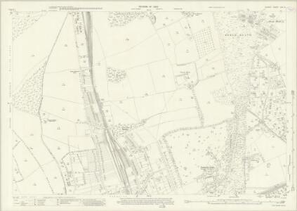 Surrey XIX.14 (includes: Banstead) - 25 Inch Map