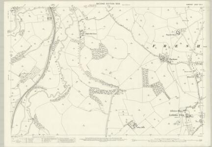 Somerset XXI.2 (includes: Freshford; Hinton Charterhouse; South Stoke; Wellow) - 25 Inch Map