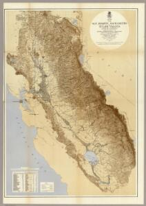 Map Of The San Joaquin, Sacramento And Tulare Valleys.