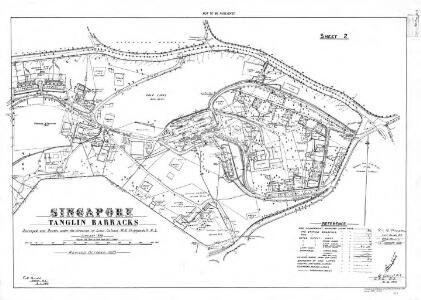 Singapore Tanglin Barracks (Sheet 2)