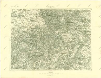 III. vojenské mapování 4557