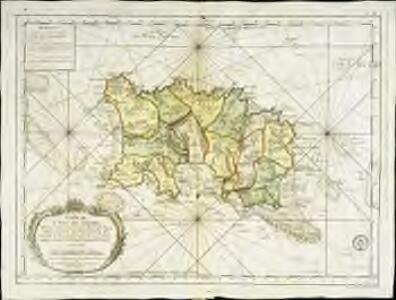 Carte de l'isle de Jersey