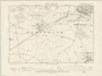 Oxfordshire XL.NW - OS Six-Inch Map