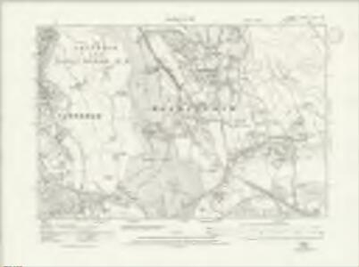 Surrey XXVII.NE - OS Six-Inch Map