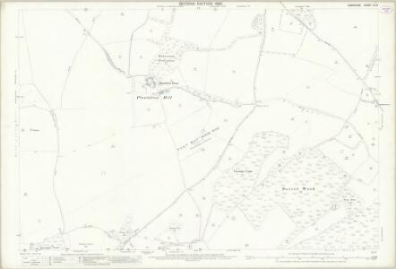 Hampshire and Isle of Wight IX.12 (includes: Baughurst; Kingsclere) - 25 Inch Map