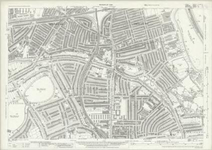 Essex (New Series 1913-) n LXXVII.11 (includes: Hackney; Stoke Newington; Tottenham) - 25 Inch Map