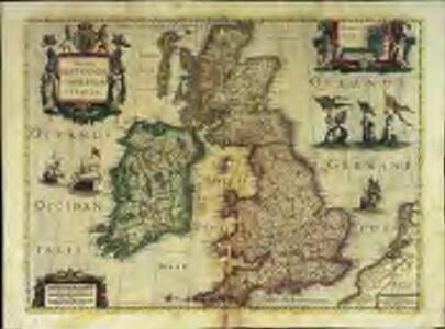 Magnæ Britanniæ et Hiberniæ tabula