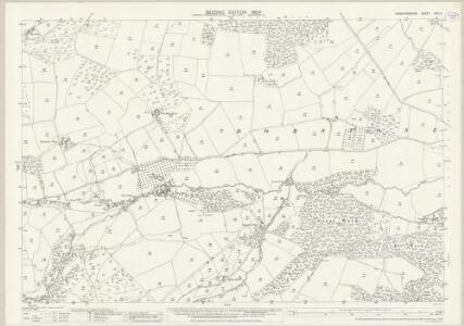 Herefordshire XXXI.11 (includes: Llangernyw) - 25 Inch Map