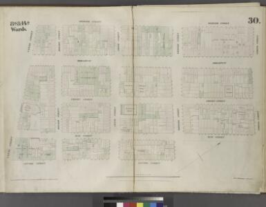Plate 30: Map bounded by Spring Street, Elm Street, Broome Street, Centre Street, Canal Street, Mercer Street.