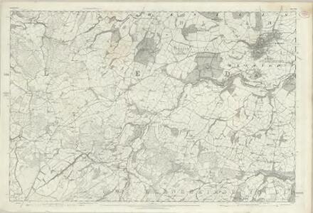 Denbighshire XIII - OS Six-Inch Map
