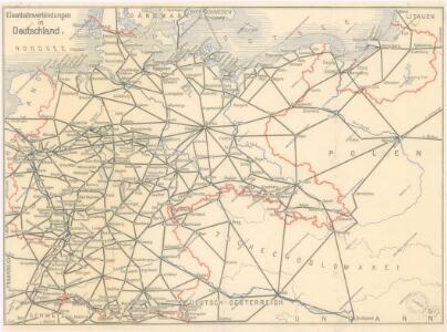 Eisenbahnverbindungen in Deutschland