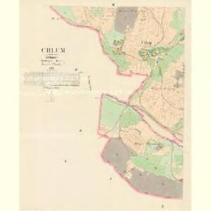 Chlum - c2531-1-003 - Kaiserpflichtexemplar der Landkarten des stabilen Katasters