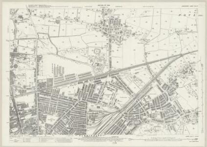 Lancashire CIX.13 (includes: Poulton With Fearnhead; Warrington) - 25 Inch Map