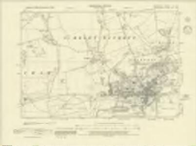 Berkshire X.NW - OS Six-Inch Map