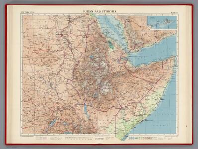 Sudan and Ethiopia, Plate 87, V. IV