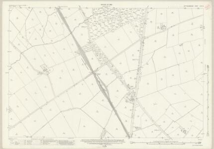 Nottinghamshire XLVII.13 (includes: Hickling; Kinoulton; Stanton On The Wolds; Widmerpool) - 25 Inch Map