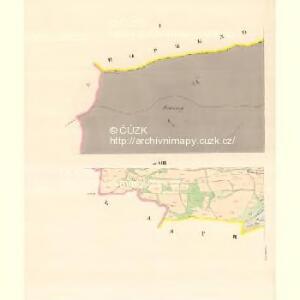 Zaschau (Zassow) - m3563-1-001 - Kaiserpflichtexemplar der Landkarten des stabilen Katasters