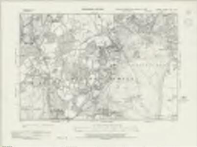 Surrey XXVI.NW - OS Six-Inch Map