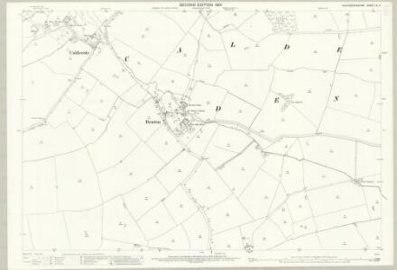 Huntingdonshire IX.6 (includes: Denton and Caldecote; Folksworth and Washingley; Glatton; Stilton) - 25 Inch Map