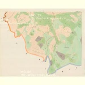 Zihobetz - c9432-1-004 - Kaiserpflichtexemplar der Landkarten des stabilen Katasters