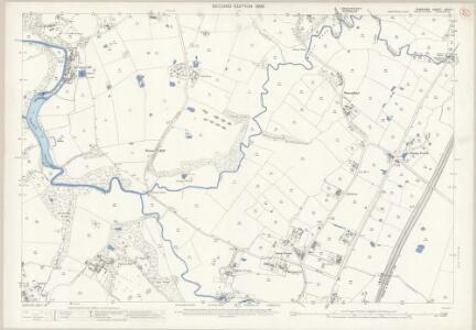 Cheshire XXVIII.1 (includes: Wilmslow) - 25 Inch Map